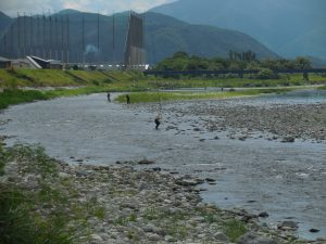 8月10日の会津大川です。('◇')ゞ