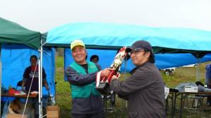 会津大川ルアー・フライ マス釣り大会結果