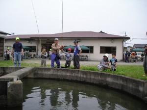 GW 親子マス釣り大会(写真掲載)